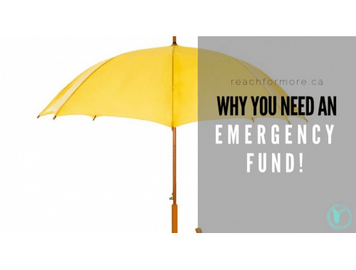 Why you need savings in case of emergency - and how to use your budget to get your emergency fund started fast!