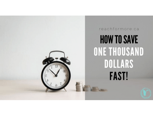 15 easy tips to save $1000 quickly