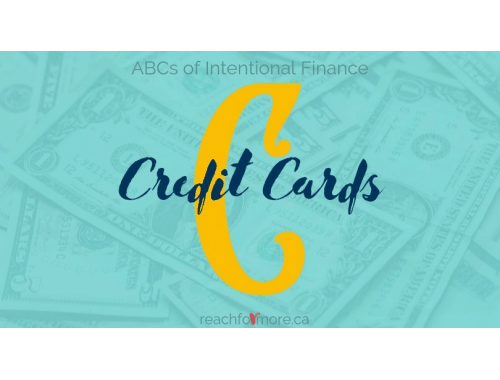 ABCs of Personal Finance - C is for Credit Cards - Are you struggling with the cycle of credit card debt? Read this now to GET OUT!