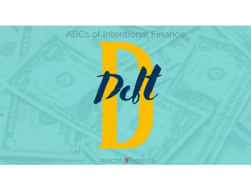 ABCs of Intentional Finance D is for Debt Do these 9 things BEFORE you pay off your debt!