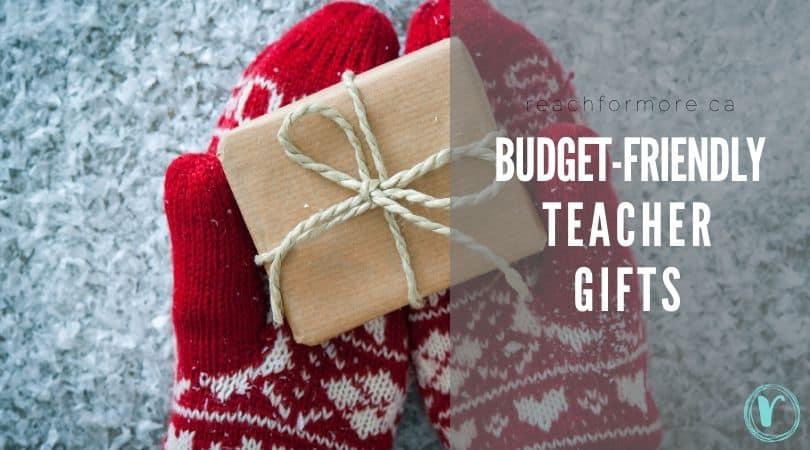 budget-friendly teacher gifts