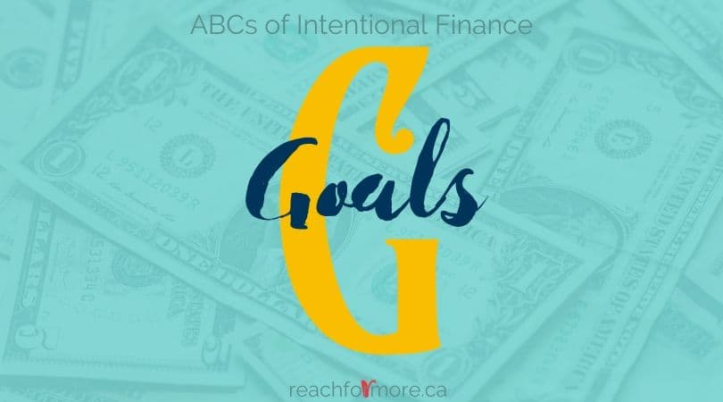 G is for Goals